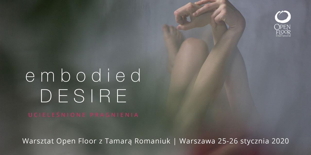 Embodied Desire | Ucieleśnione Pragnienie - Warsztat Open Floor | Warszawa @ Pałac Kultury i Nauki | Warszawa | mazowieckie | Poland